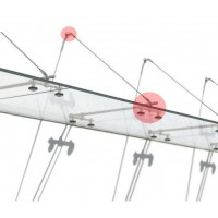 Accessories for glass canopies