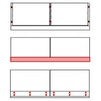 Accessories and profiles for glass balustrade
