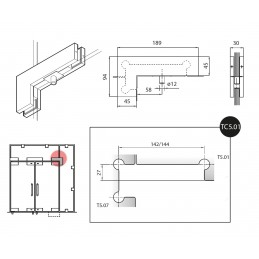 54000 - transom patch with...