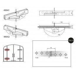 49041/2 - hinges with...