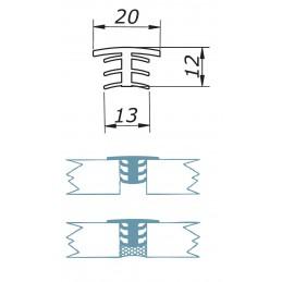 AC 10 - silicone propfile