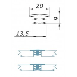 AC 9 - silicone propfile