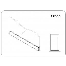 17800 - bottom door rail