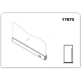 17870 - bottom door rail...