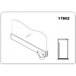17802 - offset bottom door...