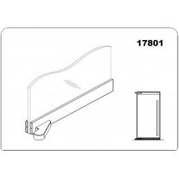 17801 - offset bottom door...