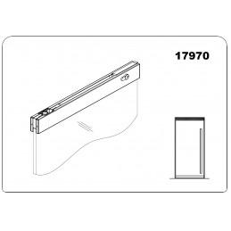 17970 - top door rail with...