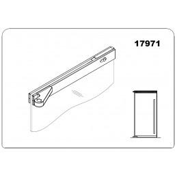 17971 - offset top door...