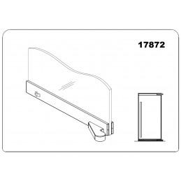 17872 - offset bottom door...