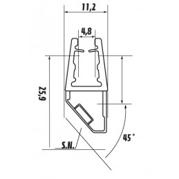 16043 A.000 - magnetic seal...