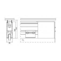 17200 - top door rail